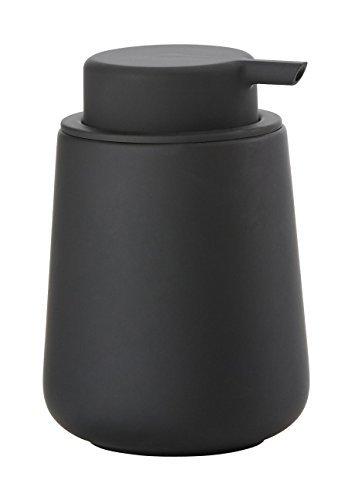 Zone Denmark Nova One 0.25L Black Soap & Lotion Dispenser–Soap & Lotion Sugar Shaker (80mm; 80mm; 115mm)