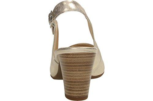 Gabor62.260.63 - Scarpe chiuse Donna Platino