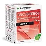 Arkopharma, ARKOSTEROL LEVADURA ROJA DE ARROZ - 120 cápsulas