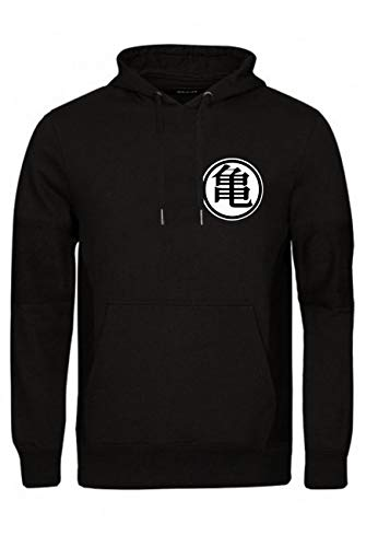 a78b53cf9e0 Magic Custom Dragon Ball - Sweat Capuche Hoodie Noir Logo Goku