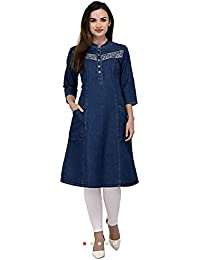 de2c59df572 Denim Women s Kurtas   Kurtis  Buy Denim Women s Kurtas   Kurtis ...