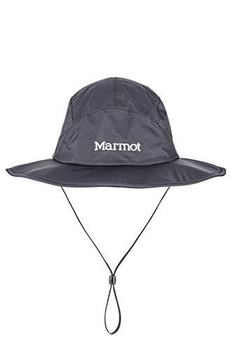 Marmot Erwachsene PreCip Safari Hat Sonnenhut, Wanderhut, Mit Uv-Schutz, Black, S/M