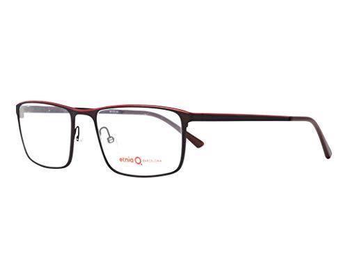 Etnia Barcelona Brille (HELMOND BRRD) Metall dunkel messing - matt rot