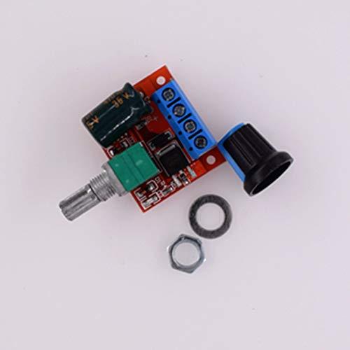 PWM DC Motorregler, HW 687 PWM DC Motordrehzahlregler 5V 25V Drehzahlregelung Schaltersteuerung 5A Schalterfunktion Kleines LED Dimmermodul