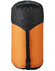 Ferrino 86049 W sac de compression pour sac de couchage, Orange, 25 x 60 cm