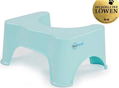 SITZFREUND der medizinische Toilettenhocker - für eine gesunde Haltung auf der Toilette - gegen...