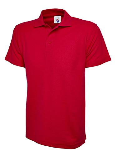 Uneek Clothing -  Polo  - Uomo Rosso