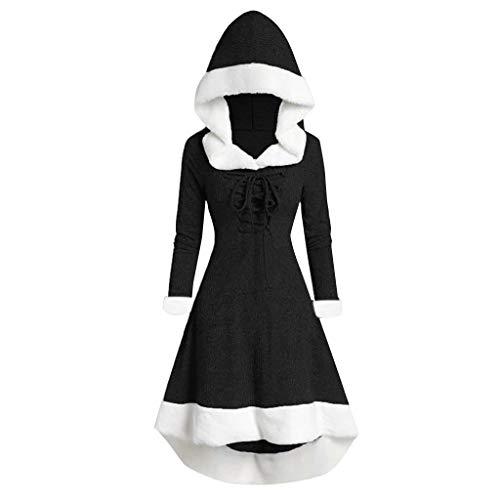 Damen Weihnachten Clubwear Spaghetti Trägerkleid mit Knopf Vorne Schlitz Sexy Eng Partykleid Figurbetont Bodycon Maxi Wrap Kleid -