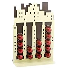 Nespresso City Capstore para cápsulas de café organizador   Con capacidad para 20 cápsulas   Ideal para Nespresso Pods