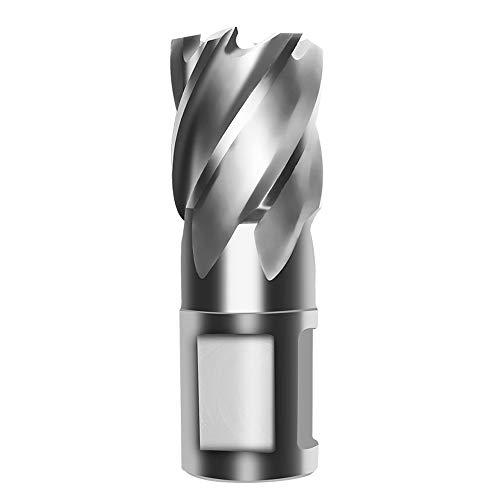 KKmoon Hohlbohrer Magnetbohrer Stahlplattenbohrer mit 30mm Dickster Stahlplattentiefe 【Durchmesser 16mm】