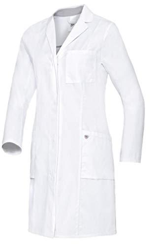 BP 1754-130-0021 Med & Care Damen Arztkittel, Baumwolle, Weiß, Größe 38n -