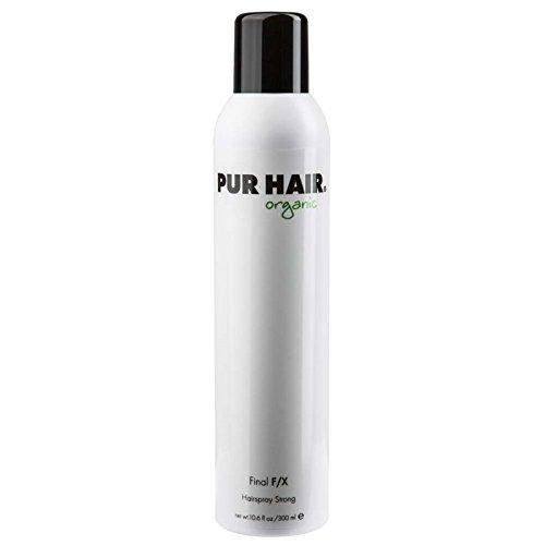 PUR HAIR organic final F/X 300 ml Haarspray für ein langanhaltendes Finish