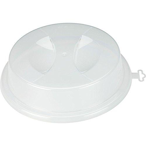 wpro PLL003 – Mikrowellenzubehör/ Mikrowellenabdeckhaube/ Ø26,5cm/ Höhe 5,5cm - 2