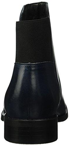Bianco Damen Dress Boot W/Elastic 26-48967 Kurzschaft Stiefel Blau (Navy Blue/30)