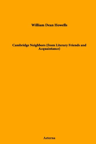 Cambridge Neighbors (from Literary Friends and Acquaintance)