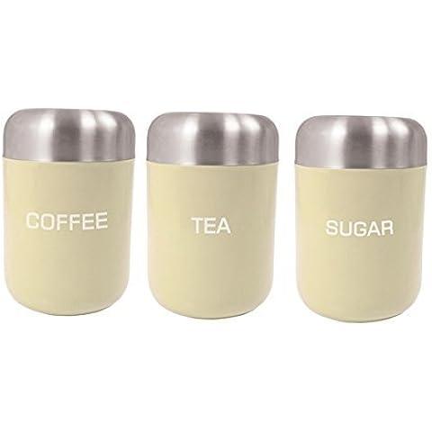 Tè, Caffè/Zucchero canister set
