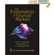 The Econometrics of Financial Markets (Reprint)