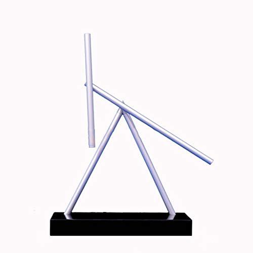 Newton Pendel, Perpetual Motion Machine, High-End-, Kreativ-, Geschäfts-, Geschenk-, Heim-, Anti-Schwerkraft-, Dekorations-, Rotierende Stabkunst , The Swinging Sticks Desktop Version Black MHJJ Motion Desktop