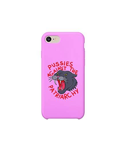 Pussies Against The Patriarchy Feminism_003098 iPhone 6 7 8 X Plus Plus Phone Case Cover Estuche para Funda de Teléfono De Carcasa Casco Protector Plástico Duro Divertido