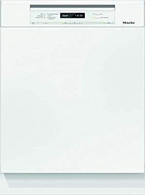 Miele g6735SCi XXL D Trikora 2,0- Lavavajillas, parcialmente integrable, A+++, 213kWh, 14Mgd, QuickPowerWash, secado completo, secado AutoOpen Brillantweiß