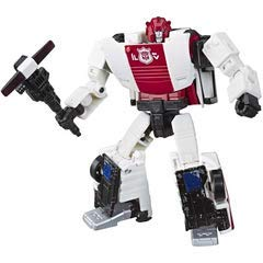Transformers Toys Generations War for Cybertron Deluxe WFC-S35 Red Alert Action Figure-Siege Chapter-Adults and Kids Ages 8 and Up, 5.5-inch