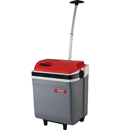 Preisvergleich Produktbild EZetil E28 M Trolley Thermoelektrische Kühlbox 12/230V, Silber/Red