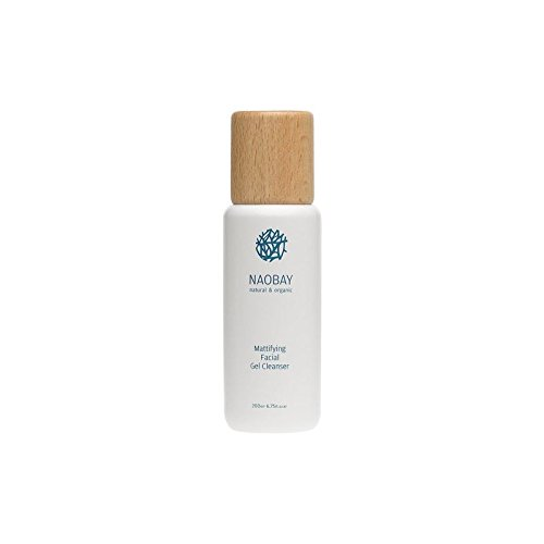 Naobay matifiant Cleansing Facial Gel 200ml (Pack de 2)