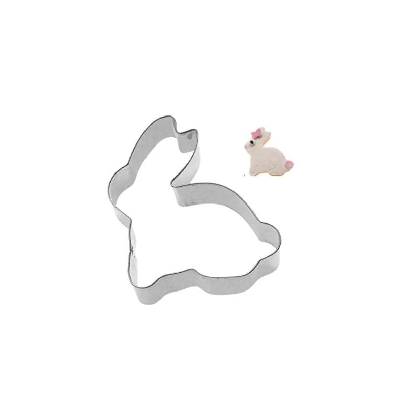 Ausstechform Backform Ausstecher Form Osterhase Frmchen Pltzchenausstecher Osterhase Stempel Hase Zum Backen Ostern Aus Edelstahl Fr Pltzchen Kuchen Cookies Kekse An Ostern
