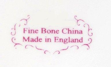 Feines Englisches Bone China Summertime Rose 4C Teekanne