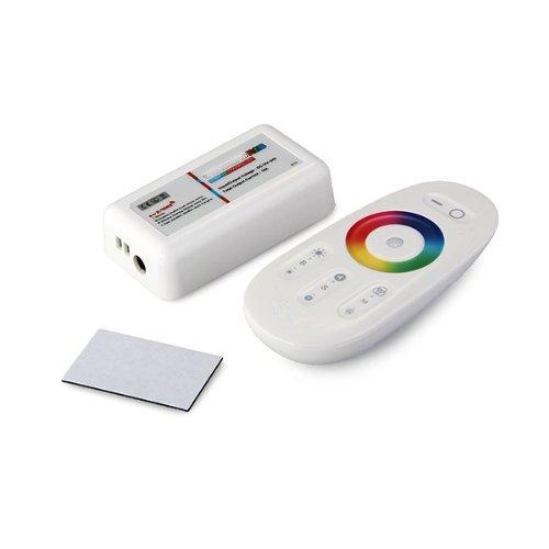 Preisvergleich Produktbild SODIAL(R) LED Controller mit Touch-Funk DC12-24V 2.4G Fernbedienung fuer RGBW Strip Wireless Steuerung NEU