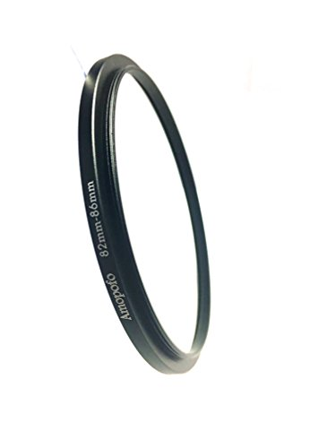 Universal 82-86mm/82mm to86mm Step up Ring Filter Adapter für UV-, Nd, CPL, Metall Step up Ring Adapter -