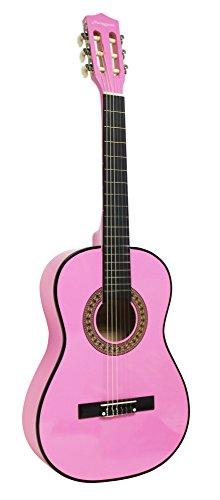 Martin Smith W-560-PNK - Paquete de guitarra acústica con cuerdas