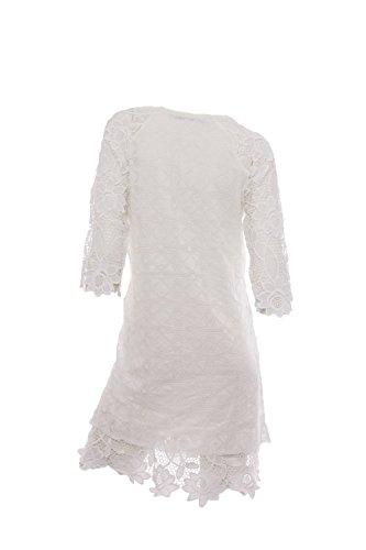 DESIGUAL - Damen slim fit kleid selsi 74v2wk6 Weiß