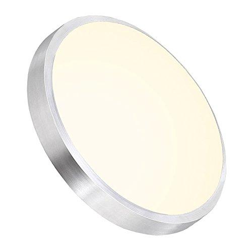 Hengda® 15w RUND 18W LED Deckenleuchte Bad 85V-265V Deckenlampe Designleuchte Wohnzimmer Küche 6000K-6500K weiß Badleuchte Warmweiß Warmweiß 2700-3200K Lampe (15W Warmweiß) -