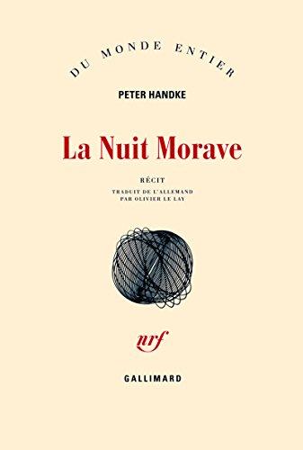 La Nuit Morave par Peter Handke