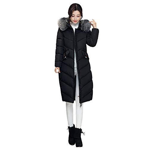 iHENGH Damen Herbst Winter Bequem Mantel Lässig Mode Jacke Frauen Frauen Oberbekleidung Knopf...