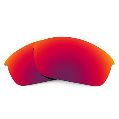Verres de rechange pour Oakley Flak Jacket Asian Fit — Plusieurs options Soleil de Minuit MirrorShield® - Non-Polarisés