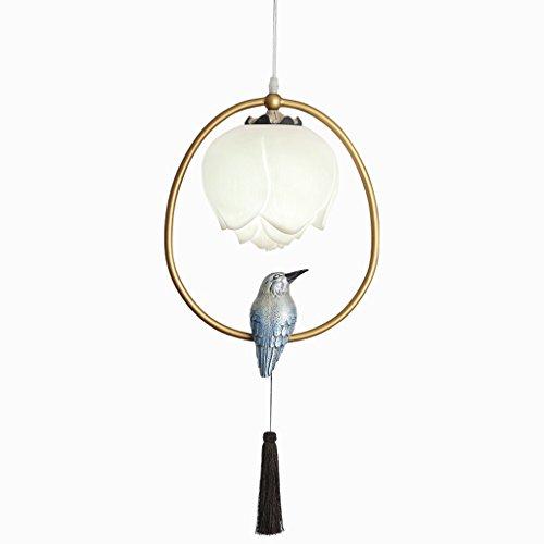Zylinder-befestigung (shuang NEUE entworfene antike Vogel-Käfig-hängende Kronleuchter-Zylinder-Befestigung von Ella-Art und Weise 266 ( Farbe : A ))