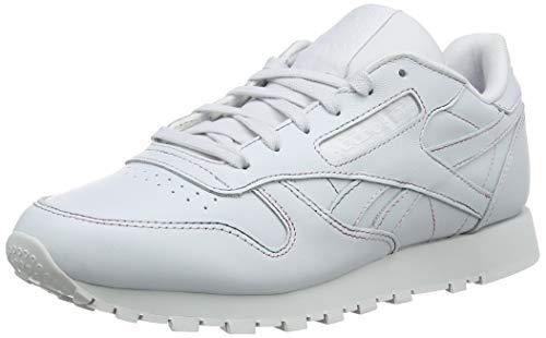 Reebok Damen Classic Leather Fitnessschuhe Mehrfarbig (Space Dye/Spirit White 000) 40 EU