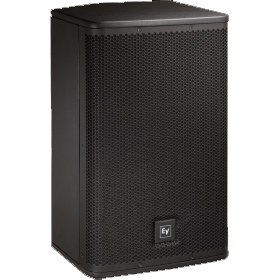 \'Electro-Voice ELX115P 1000 W Black Loudspeaker - Loudspeakers (Universal, 2-Way, Floor, Built-in, 3.81 cm (1.5 Zoll), 38.1 cm (15))