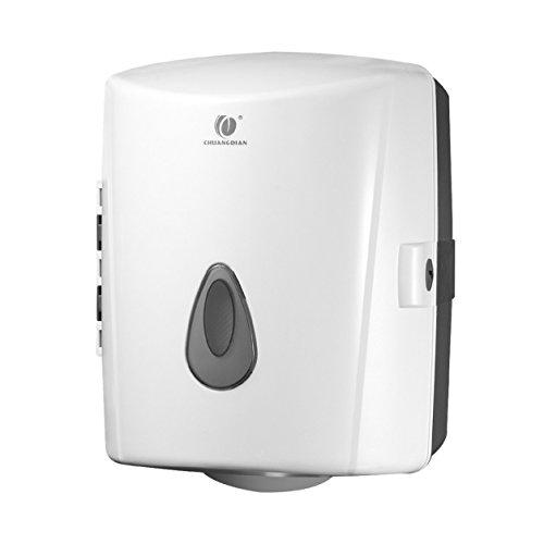 Porta-carta-igienica-per-bagno-rotolo-carta-igienica-ABS-colore-bianco