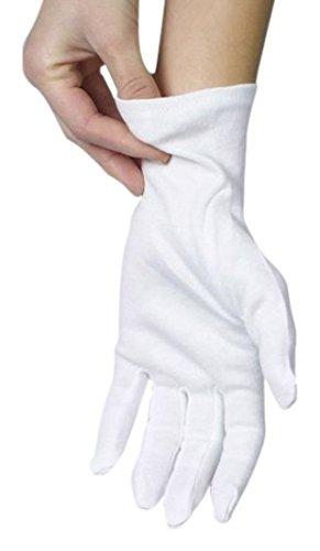 Papstar 1242312paia di guanti in cotone taglia L, (9 Guanto)