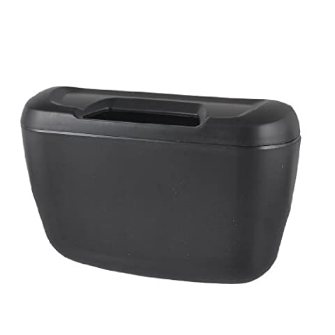 Zwart plastic Voertuig Auto producten Car Trash Garbage Box w Hook