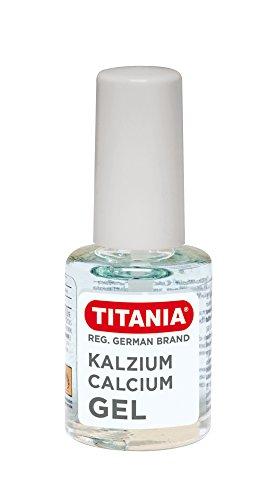 TITANIA Kalzium-Gel für Erhöhte Nagelelastizität, auf Blisterkarte, 1er Pack (1 x 46 g) -