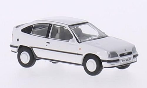 Vauxhall Astra MkII GTE, blanche, RHD, voiture miniature, Miniature déjà montée, Oxford 1:76