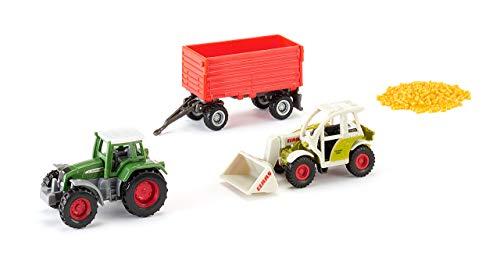 SIKU 6304, Geschenkset Landwirtschaft, Metall/Kunststoff, Multicolor, Spielkombination, Bewegliche Teile