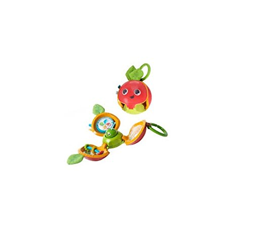 Tiny Love Explore and Play Apple - Motorik-Spielzeug Baby, ab der Geburt (0M +), mehrfarbig