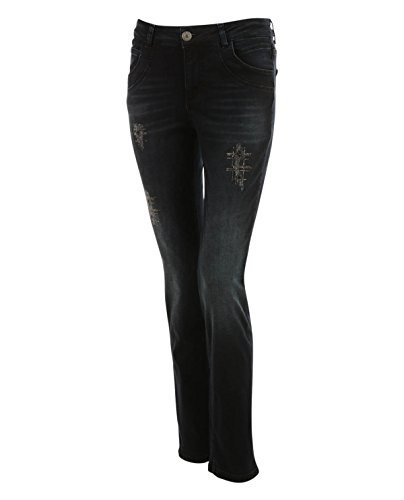 5-Pocket Jeans mit Strass (Strass-pocket-jeans)