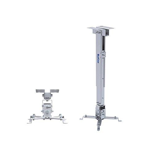 QualGear QG-PM-002-WHT Universal-Projektor Deckenhalterung, weiß -
