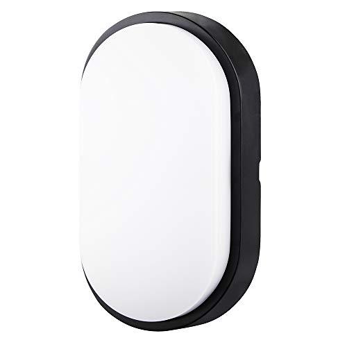 Ovale Lampada da Parete Esterno LED Impermeabile IP54 Applique da